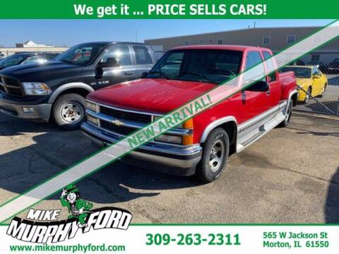 1996 Chevrolet C/K 1500 Series for sale at Mike Murphy Ford in Morton IL