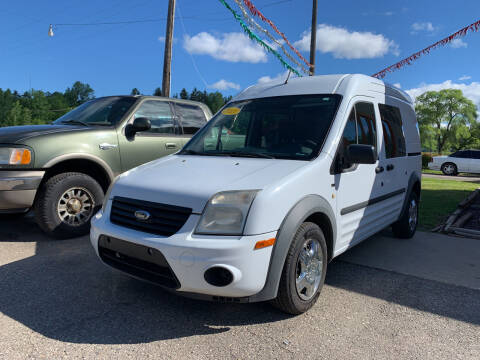 2013 Ford Transit Connect for sale at CARS R US in Caro MI