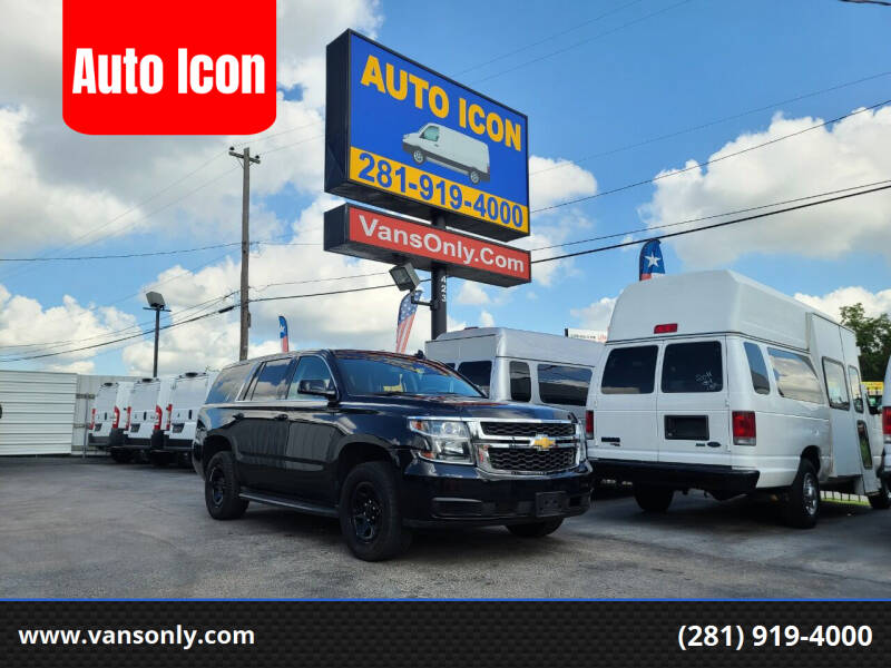 2017 Chevrolet Tahoe for sale at Auto Icon in Houston TX