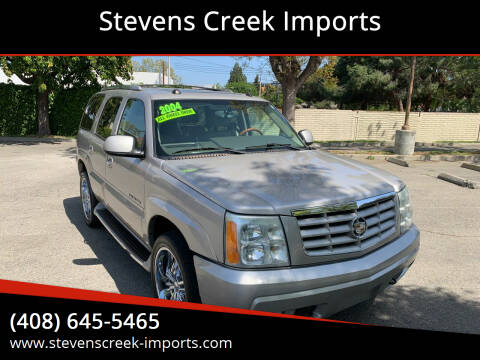 2004 Cadillac Escalade for sale at Stevens Creek Imports in San Jose CA