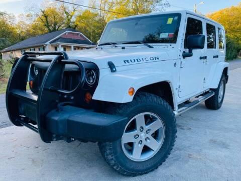 2012 Jeep Wrangler Unlimited for sale at E-Z Auto Finance in Marietta GA