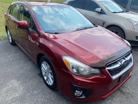 2012 Subaru Impreza for sale at Ball Pre-owned Auto in Terra Alta WV