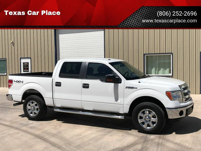 2013 Ford F-150 for sale at TEXAS CAR PLACE in Lubbock TX