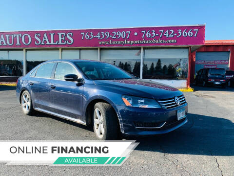 2014 Volkswagen Passat for sale at LUXURY IMPORTS AUTO SALES INC in North Branch MN