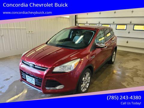 2013 Ford Escape for sale at Concordia Chevrolet Buick in Concordia KS