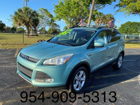 2013 Ford Escape for sale at Lamberti Auto Collection in Plantation FL