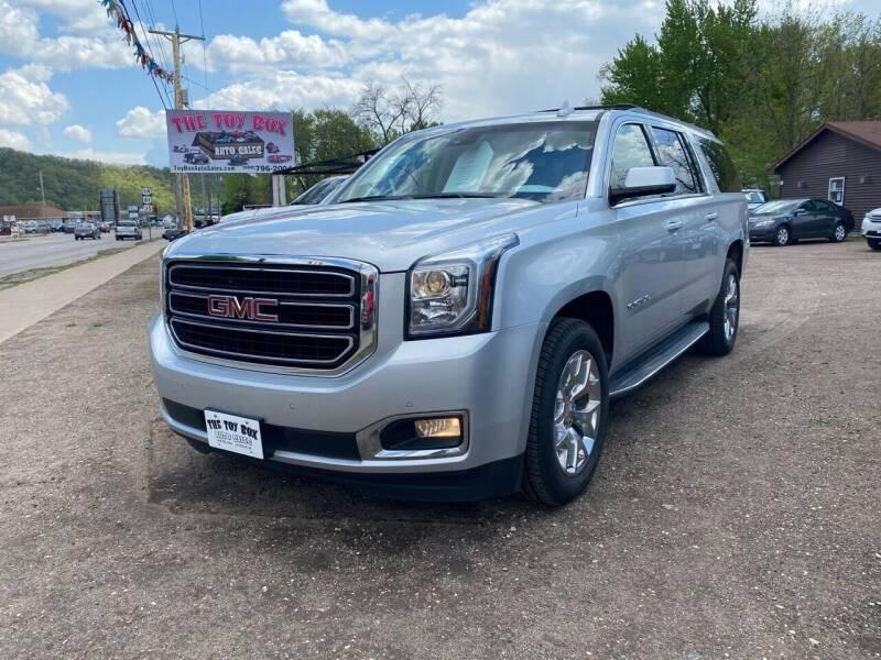 2018 GMC Yukon XL for sale at Toy Box Auto Sales LLC in La Crosse WI