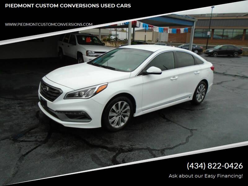 2016 Hyundai Sonata for sale at PIEDMONT CUSTOM CONVERSIONS USED CARS in Danville VA