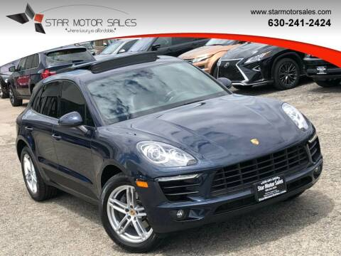 2017 Porsche Macan for sale at Star Motor Sales in Downers Grove IL