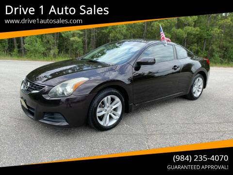 2010 Nissan Altima for sale at Drive 1 Auto Sales in Wake Forest NC
