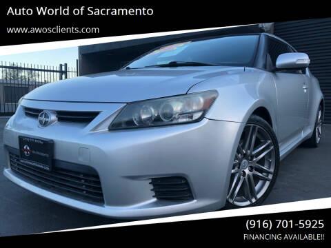 2012 Scion tC for sale at Auto World of Sacramento Stockton Blvd in Sacramento CA