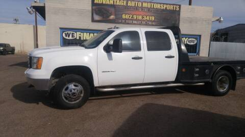 2013 GMC Sierra 3500HD for sale at Advantage Auto Motorsports in Phoenix AZ