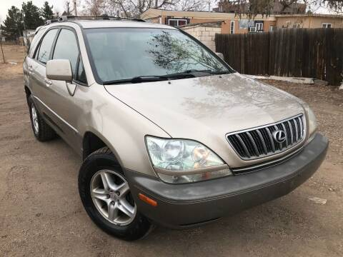 2001 Lexus RX 300 for sale at 3-B Auto Sales in Aurora CO