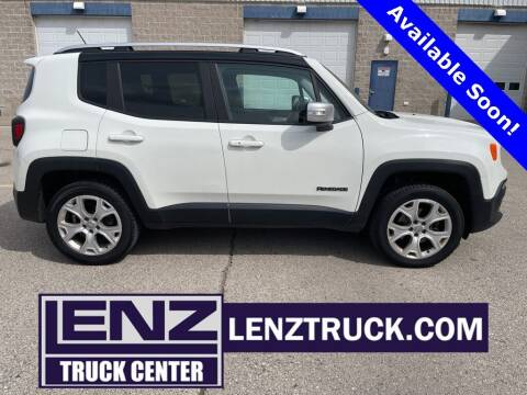 2015 Jeep Renegade for sale at LENZ TRUCK CENTER in Fond Du Lac WI