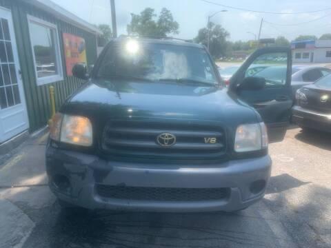 2001 Toyota Sequoia for sale at Unique Motors in Rock Island IL