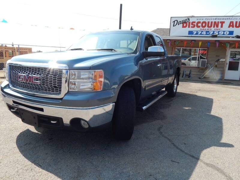 2012 GMC Sierra 1500 for sale at Dave's discount auto sales Inc in Clearfield UT
