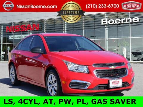 2015 Chevrolet Cruze for sale at Nissan of Boerne in Boerne TX