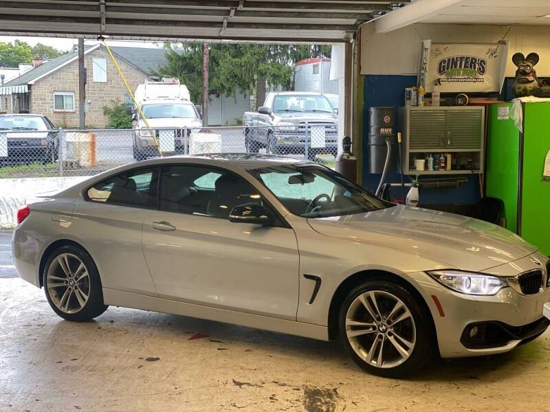 2014 BMW 4 Series for sale at Ginters Auto Sales in Camp Hill PA