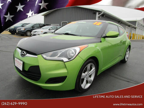 2012 Hyundai Veloster for sale at Lifetime Auto Sales and Service in West Bend WI