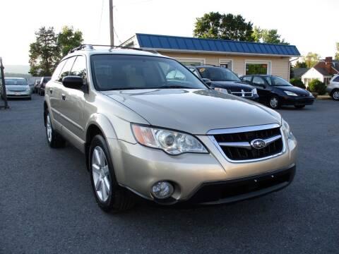 2008 Subaru Outback for sale at Supermax Autos in Strasburg VA