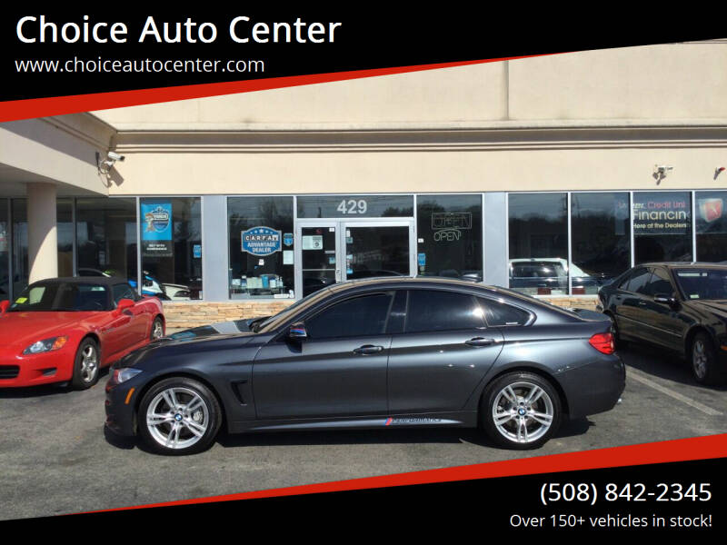2016 BMW 4 Series for sale at Choice Auto Center in Shrewsbury MA