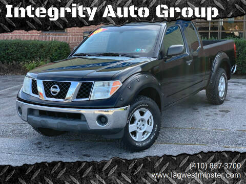 2005 Nissan Frontier for sale at Integrity Auto Group in Westminister MD