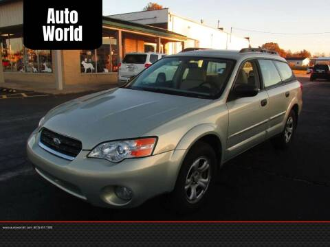 2007 Subaru Outback for sale at Auto World in Carbondale IL