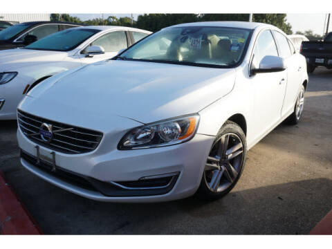2015 Volvo S60 for sale at BAYWAY Certified Pre-Owned in Houston TX