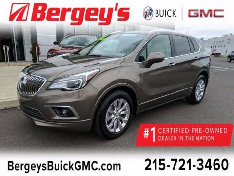 2018 Buick Envision for sale at Bergey's Buick GMC in Souderton PA