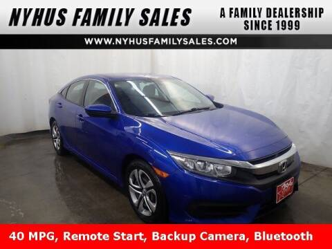 2018 Honda Civic for sale at Nyhus Family Sales in Perham MN