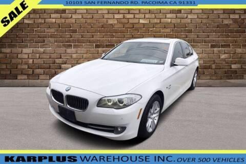2012 BMW 5 Series for sale at Karplus Warehouse in Pacoima CA
