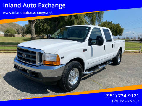 2001 Ford F-250 Super Duty for sale at Inland Auto Exchange in Norco CA