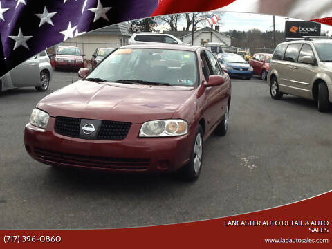 2004 Nissan Sentra for sale at Lancaster Auto Detail & Auto Sales in Lancaster PA