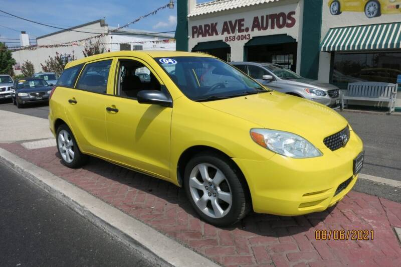 2004 Toyota Matrix for sale at PARK AVENUE AUTOS in Collingswood NJ