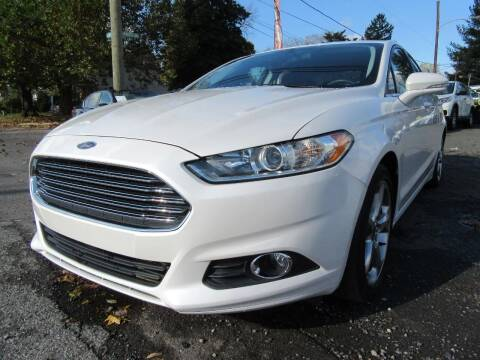 2015 Ford Fusion for sale at PRESTIGE IMPORT AUTO SALES in Morrisville PA