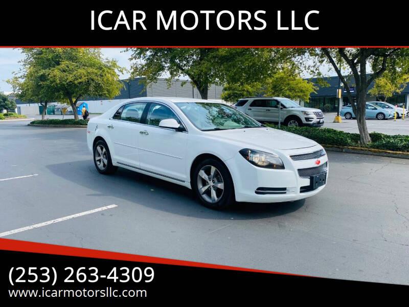 2012 Chevrolet Malibu for sale at ICAR MOTORS LLC in Federal Way WA