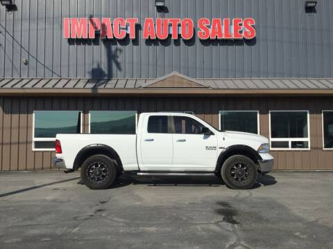 2014 RAM Ram Pickup 1500 for sale at Impact Auto Sales in Wenatchee WA