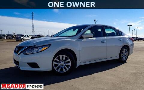 2018 Nissan Altima for sale at Meador Dodge Chrysler Jeep RAM in Fort Worth TX