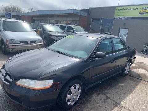 1998 Honda Sedan for sale at Highbid Auto Sales & Service in Lakewood CO