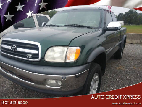 2000 Toyota Tundra for sale at Auto Credit Xpress - Sherwood in Sherwood AR