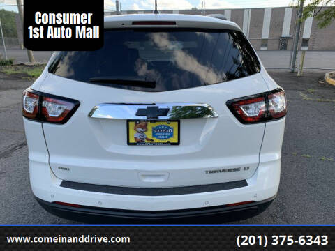 2013 Chevrolet Traverse for sale at Consumer 1st Auto Mall in Hasbrouck Heights NJ
