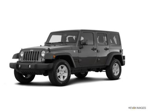2017 Jeep Wrangler Unlimited for sale at Ken Wilson Ford in Canton NC