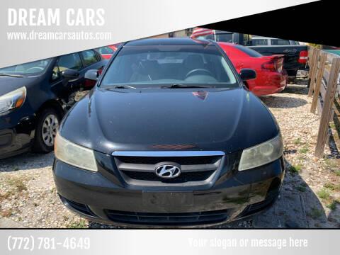 2007 Hyundai Sonata for sale at DREAM CARS in Stuart FL