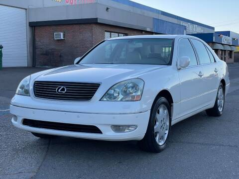 2002 Lexus LS 430 for sale at California Auto Deals in Sacramento CA