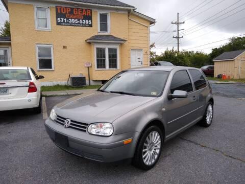 2005 Volkswagen GTI for sale at Top Gear Motors in Winchester VA