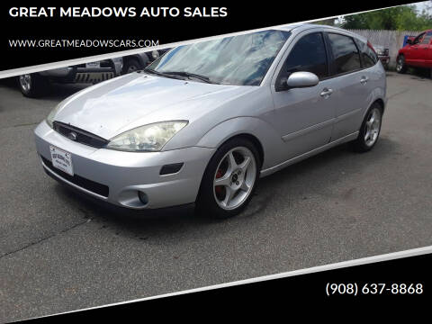 2003 Ford Focus SVT for sale at GREAT MEADOWS AUTO SALES in Great Meadows NJ