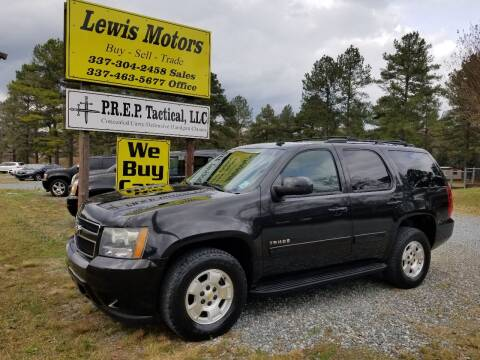 2011 Chevrolet Tahoe for sale at Lewis Motors LLC in Deridder LA