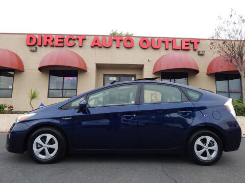 2012 Toyota Prius for sale at Direct Auto Outlet LLC in Fair Oaks CA