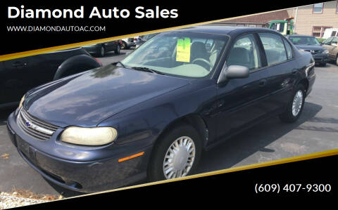 2000 Chevrolet Malibu for sale at Diamond Auto Sales in Pleasantville NJ