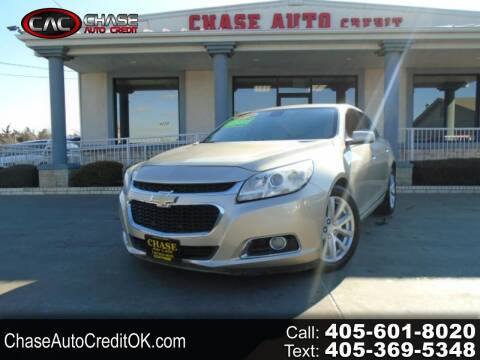 2014 Chevrolet Malibu for sale at Chase Auto Credit in Oklahoma City OK